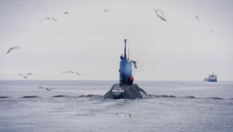 Корабль ВМС Великобритании сопроводил подлодку РФ