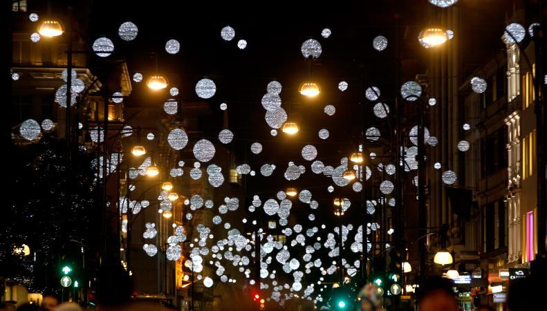Лучшая рождественская иллюминация  в Лондоне, и как увидеть все лучшее сразу