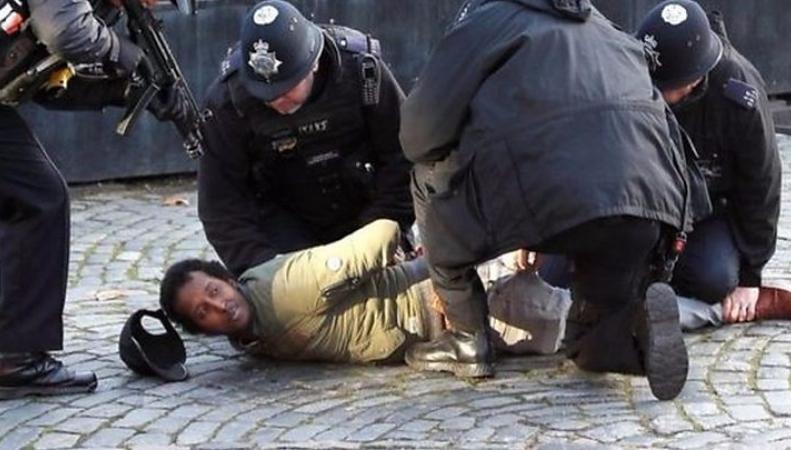 На территории Вестминстерского дворца арестован вооруженный мужчина