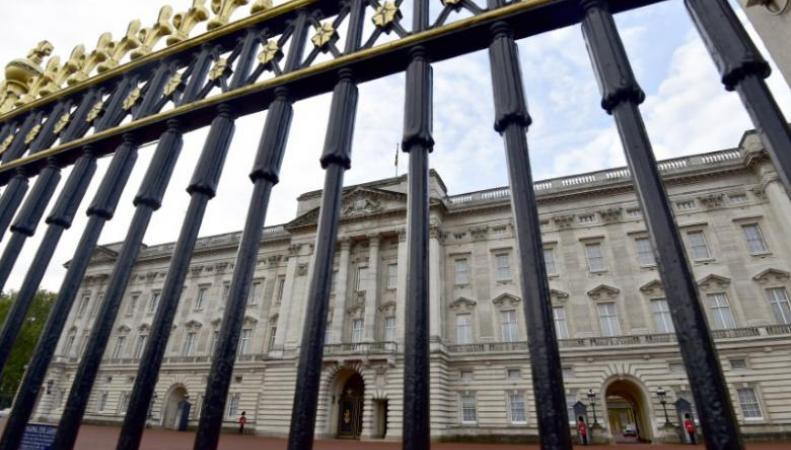 Милиция арестовала юношу запопытку перелезть через ворота Букингемского замка