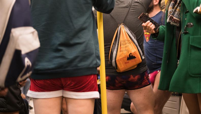 В лондонском метро пройдет «День без штанов»