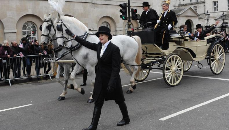 В Лондоне состоялся ежегодный Новогодний парад