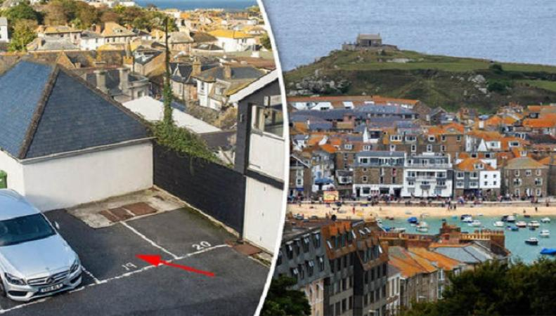 Парковочное место в Корнуолле продано за 40 000 фунтов