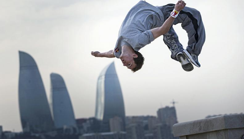 Паркур официально признан видом спорта в Великобритании
