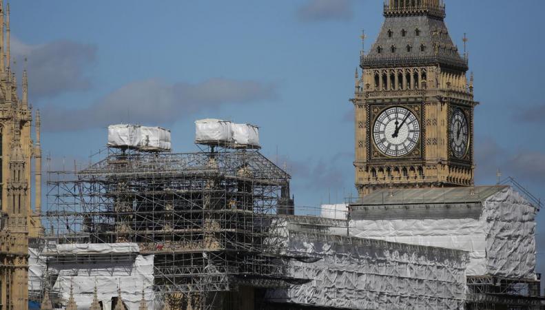 Ремонт Вестминстерского дворца обойдется намного дороже объявленного бюджета фото:independent.co.uk