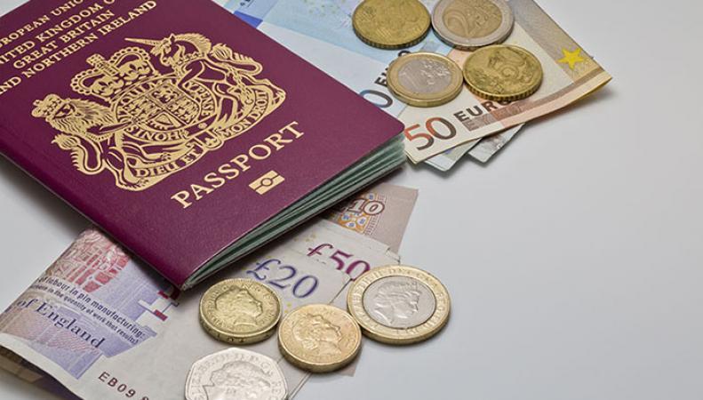 Британские паспорта продаются на черном рынке за 750 фунтов