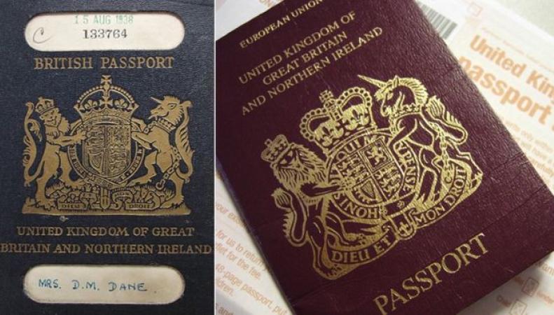 Синие паспорта вернутся в обращение в Соединенном королевстве после Brexit фото:bbc.com