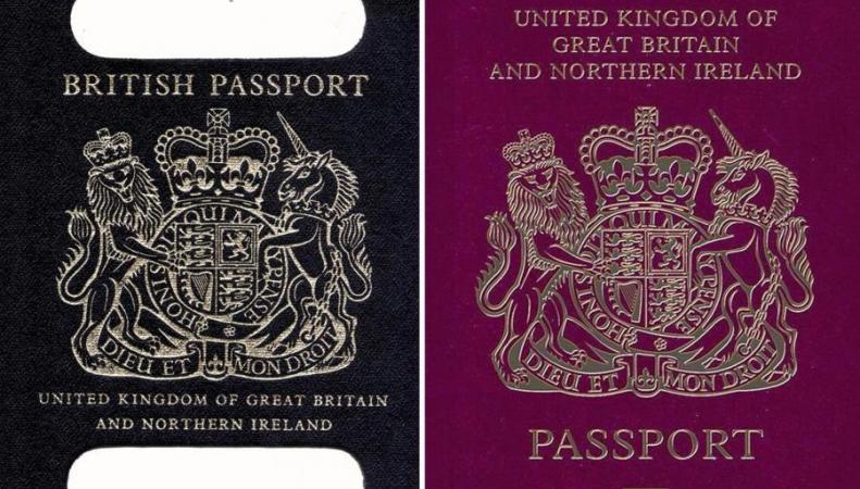 Британским паспортам вернут национальную идентичность