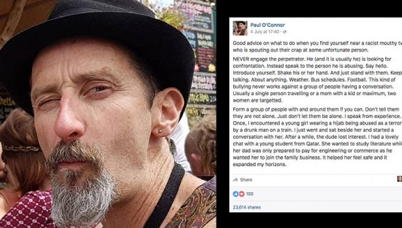 Британец рассказал, как эффективно противостоять актам ксенофобии фото:thepoke.co.uk