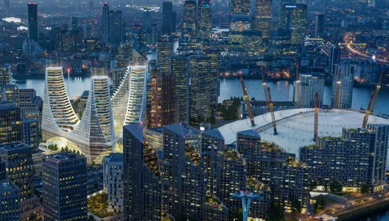 В Лондоне появится «рогатый» небоскреб фото:independent