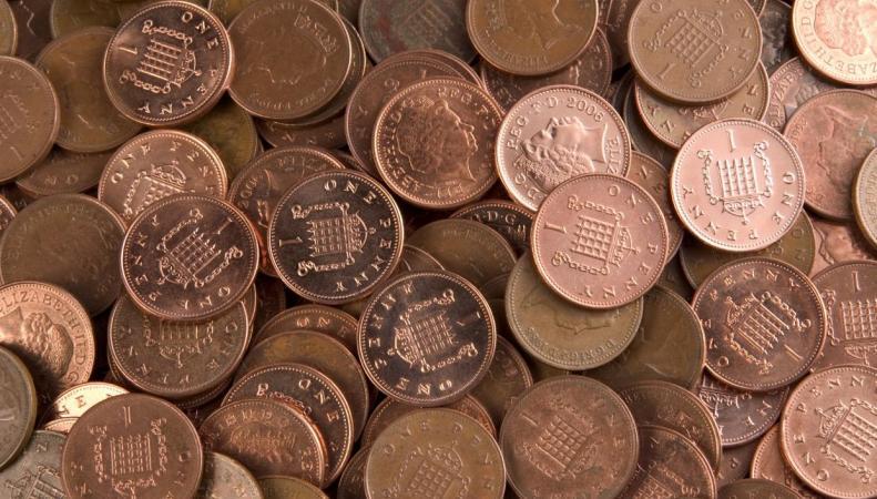 Однопенсовые монеты могут выйти из обращения фото:independent.co.uk