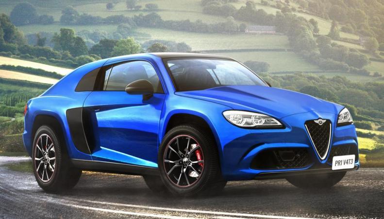 Дизайнеры смоделировали идеальный британский автомобиль