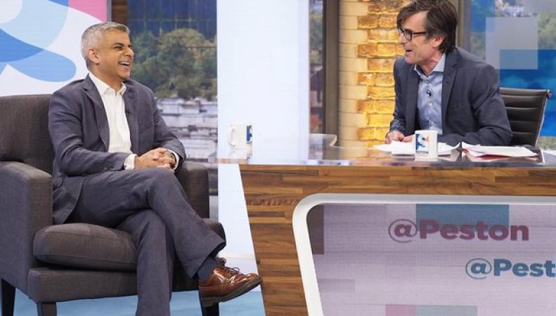 Садик Хан выступил на стороне проевропейской кампании Кэмерона фото:theguardian.com
