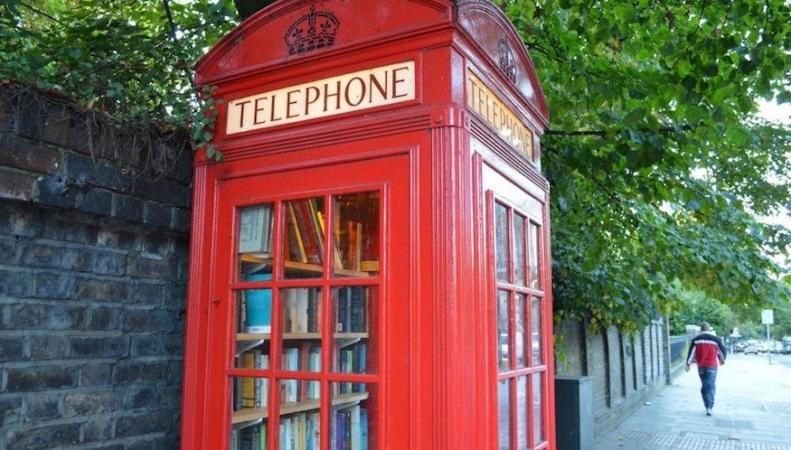 Вторая жизнь лондонских телефонных будок фото:londonist.com