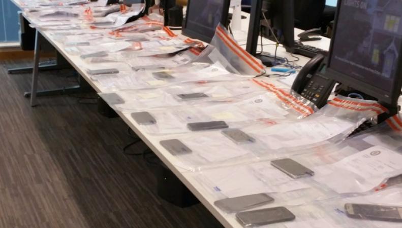 В Бирмингеме задержали вора с пятьюдесятью телефонами фото:itv