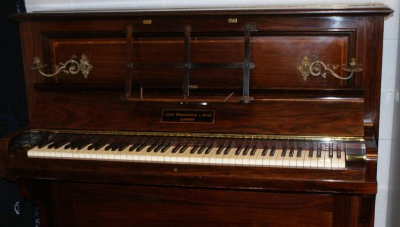 Тайник с золотом обнаружен в старом пианино в Шропшире фото:bbc.com