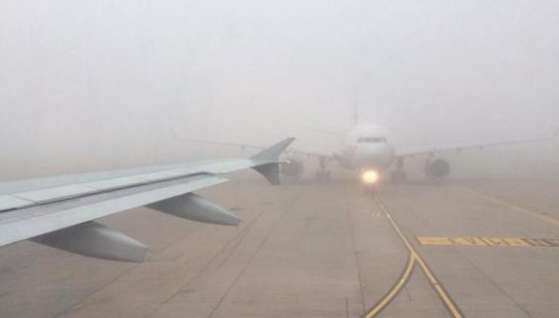 Затишье перед бурей: аэропорты Лондона перенесли рейсы из-за тумана фото:standard.co.uk