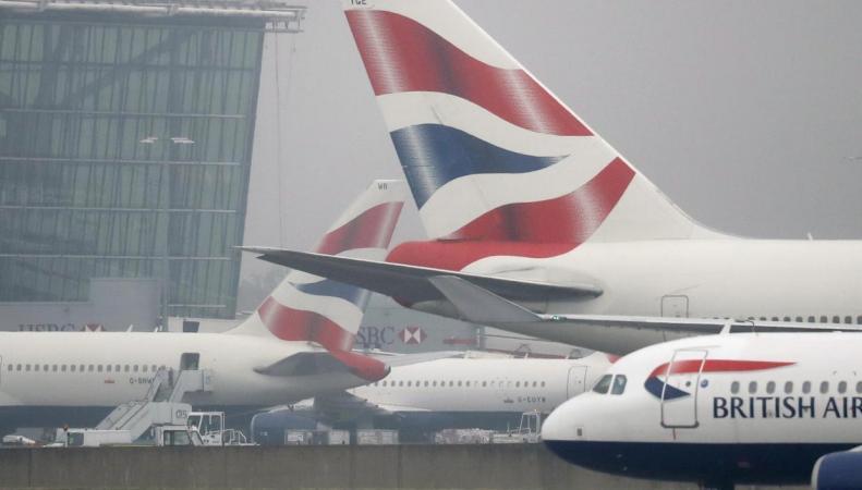 Полиция сняла с рейса в Гатвике пьяного пилота British Airways