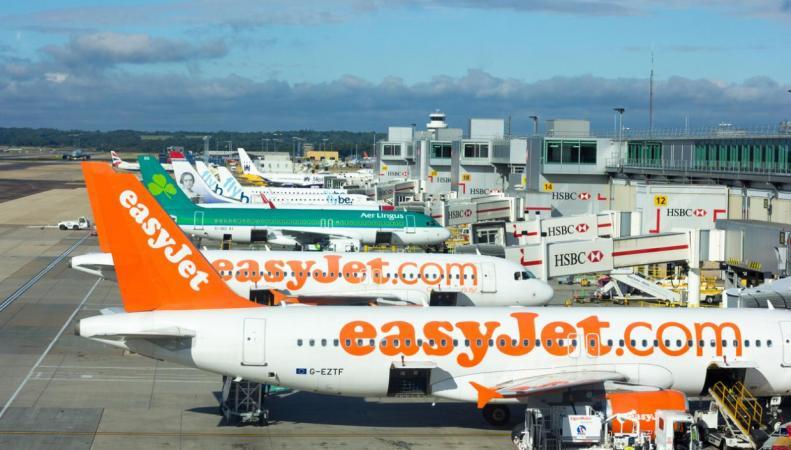 EasyJet увеличил на десять процентов за год объем пассажирских перевозок