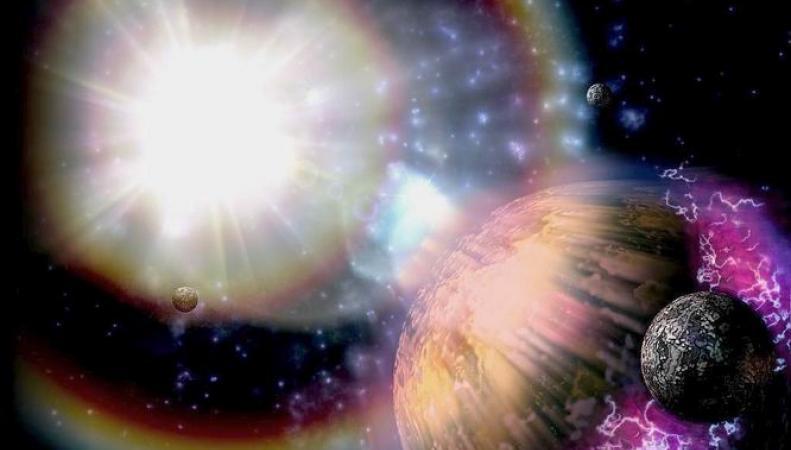 """Ученые обнаружили в космосе настоящие """"звездные войны"""""""