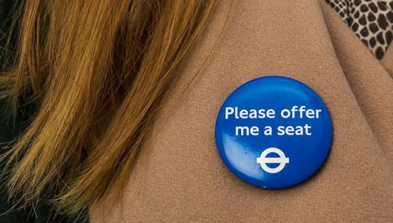 В Лондоне начали раздавать значки для людей со скрытыми проблемами со здоровьем