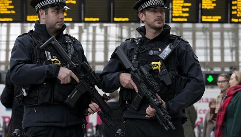 Контртеррористические меры предприняты по всей Великобритании после инцидента в Лондоне