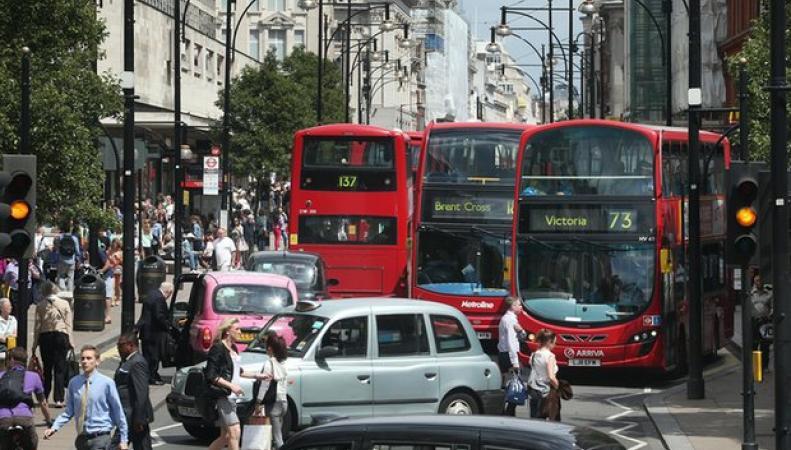 Сбор за эксплуатацию старых автомобилей в Лондоне введут в следующем году фото:theguardian.com