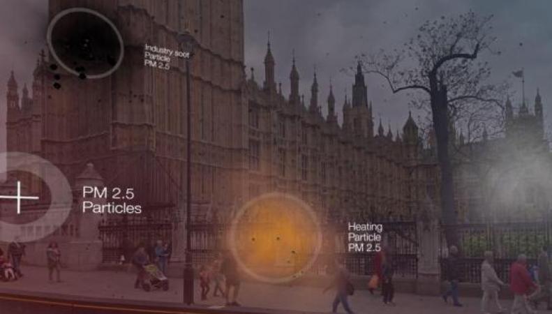 Жители Лондона могут проверить уровень загрязнения воздуха в новом мобильном приложении фото:standard.co.uk