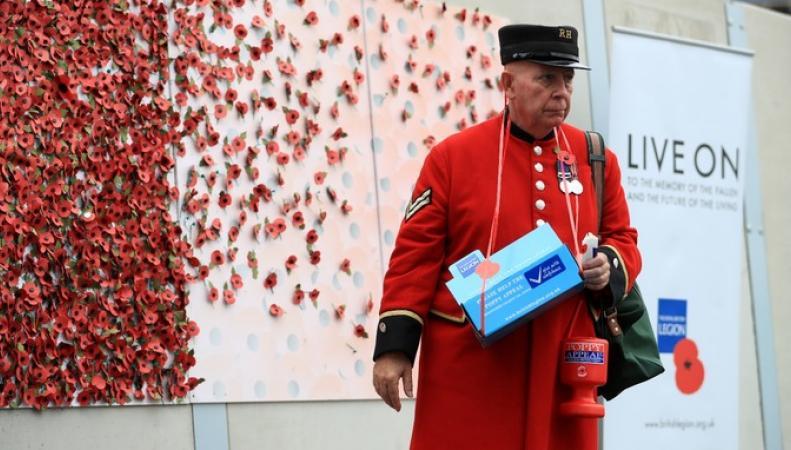 Воры похитили благотворительные пожертвования Британского легиона в Бридженде фото:itv.com