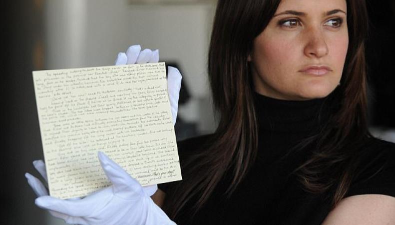 В Бирмингеме украдена ценная рукопись Джоан Роулинг фото:dailymail