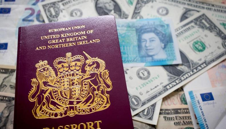 Отдыхающие в Европе британцы жалуются на крайне невыгодный курс фунта стерлингов