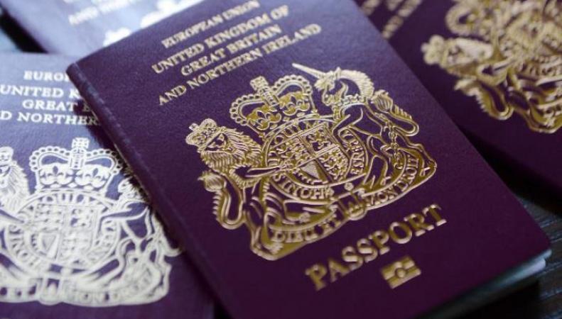 МВД дало официальные разъяснения относительно британских паспортов в контексте Brexit фото:telegraph.co.uk