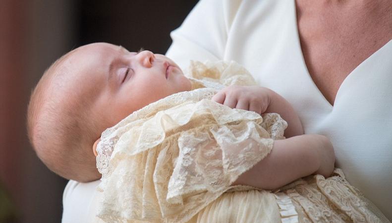 Королевская семья прибыла на церемонию крещения принца Луиса