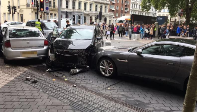Подробности наезда на пешеходов в центре Лондона