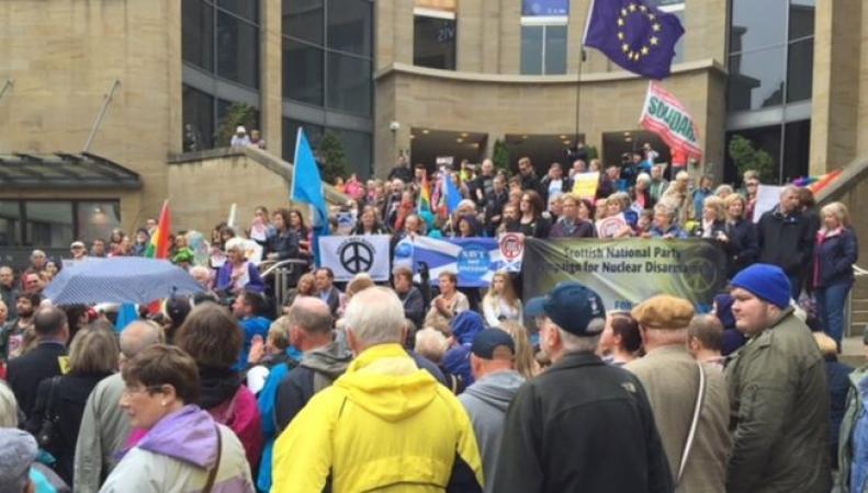 Судьба ядерной программы Trident решится в Палате общин в понедельник фото:bbc.com
