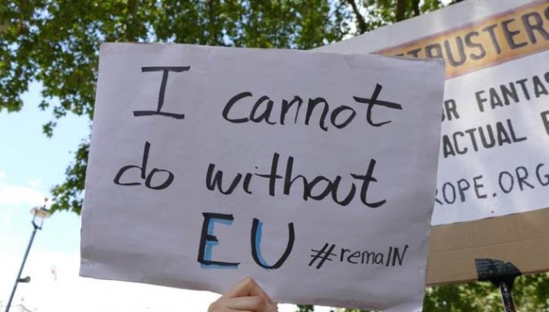В городах Великобритании прошел Марш за Европу фото:stv.tv