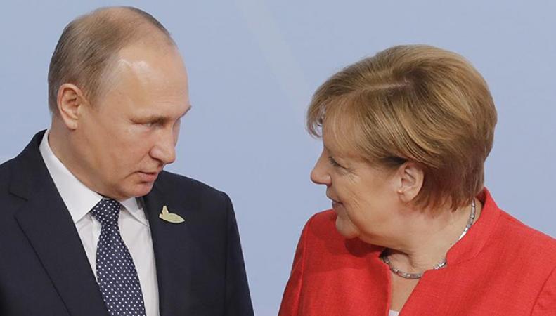 Российский политолог объяснил, зачем к Путину приезжала Меркель