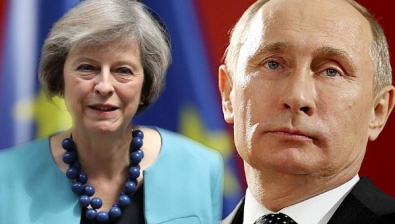 Путин и Мэй договорились о скорой встрече фото:brecorder.co.uk