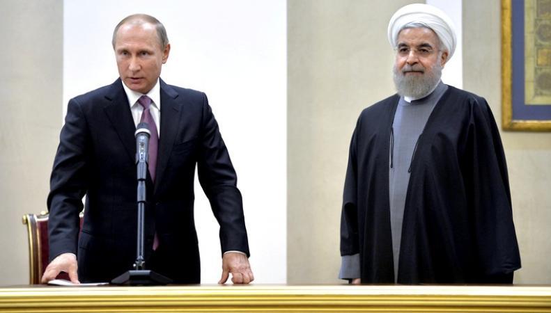 Путин и Роухани