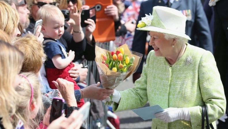 королева Елизавета в Виндзоре