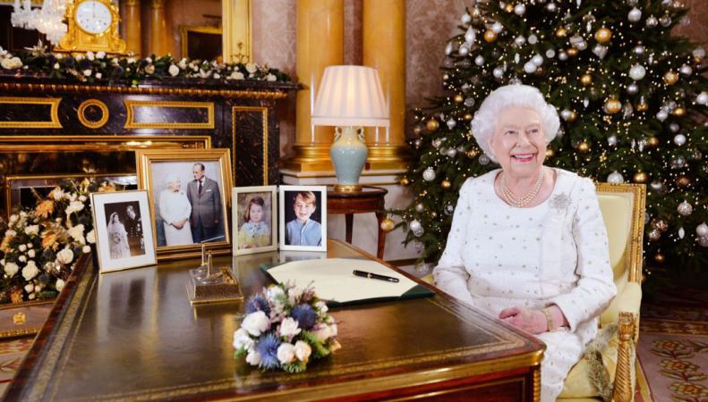 Ее Величество обратилась к подданным с рождественской речью