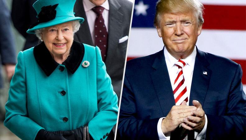 Королева Елизавета II пригласит Дональда Трампа в Великобританию  фото:hello.com