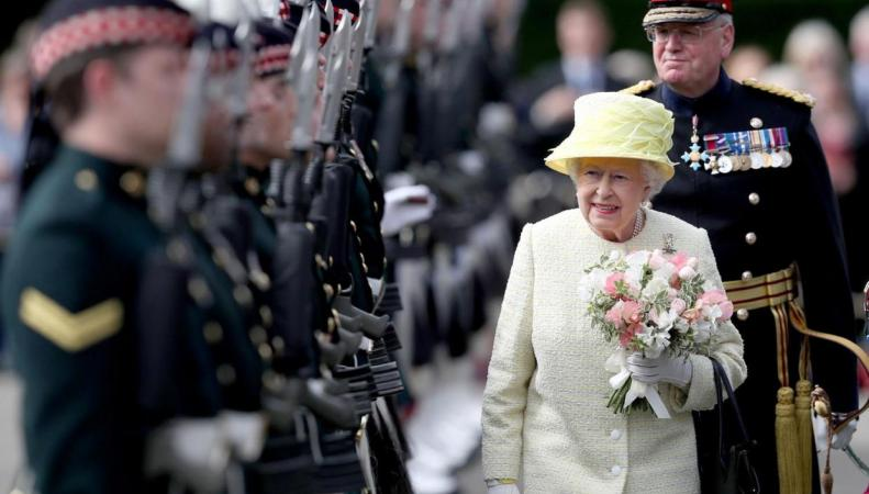 Королева Елизавета II дала старт церемониальным мероприятиям в Шотландии фото:standard.co.uk