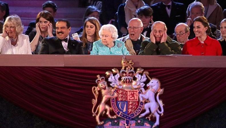 Юбилей королевы отметили масштабным праздником в Виндзорском замке фото:dailymail.co.uk