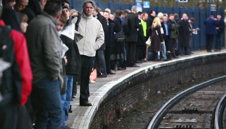 Железнодорожники в Лондоне устроили забастовку в последний день года