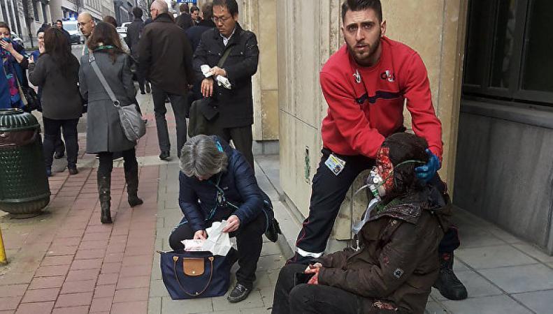 МИД Британии помогает раненным в Брюсселе британцам