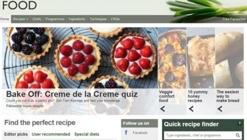 Би-Би-Си скроет архив рецептов из популярных кулинарных шоу фото:bbc.com