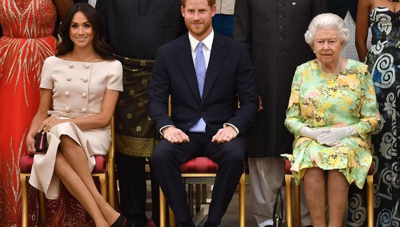 Супруги Сассекские помогли королеве Елизавете II в проведении приема во дворце