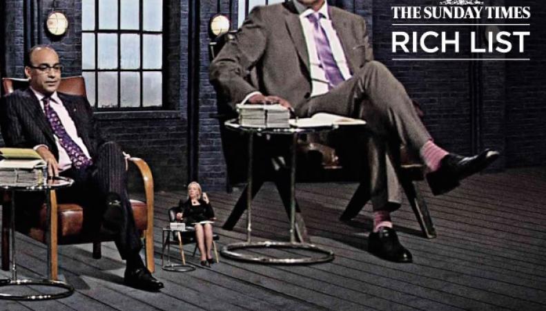 самые богатые люди Великобритании
