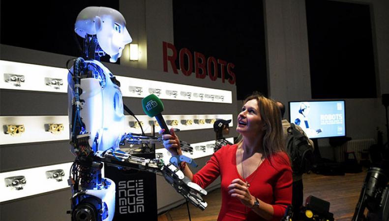 Выставка роботов в Лондоне